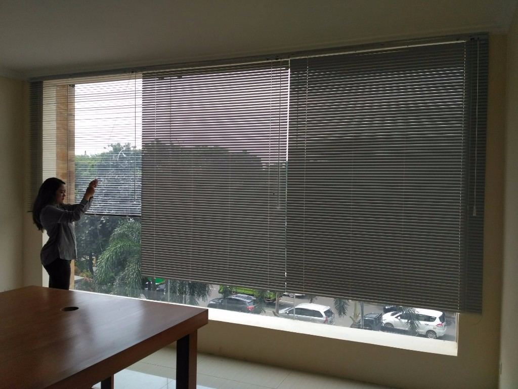 SHARP POINT HORIZONTAL BLINDS Rp 172.000