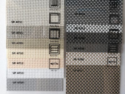 Roller blind solar screen Premium